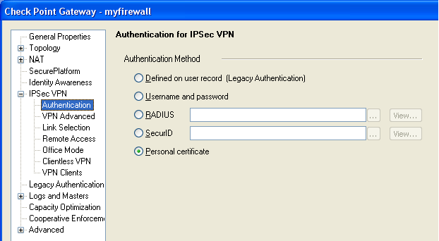 external CA for Remote Access VPN | itsecworks